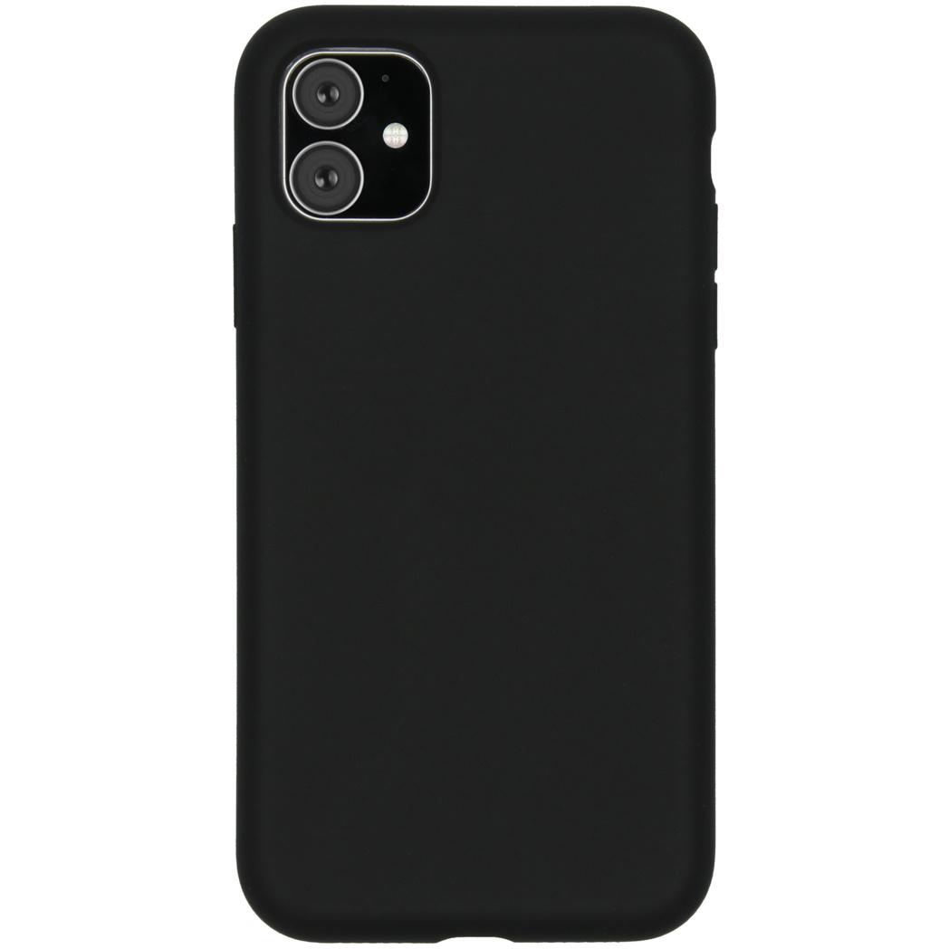 Accezz Liquid Silikoncase Schwarz für das iPhone 11