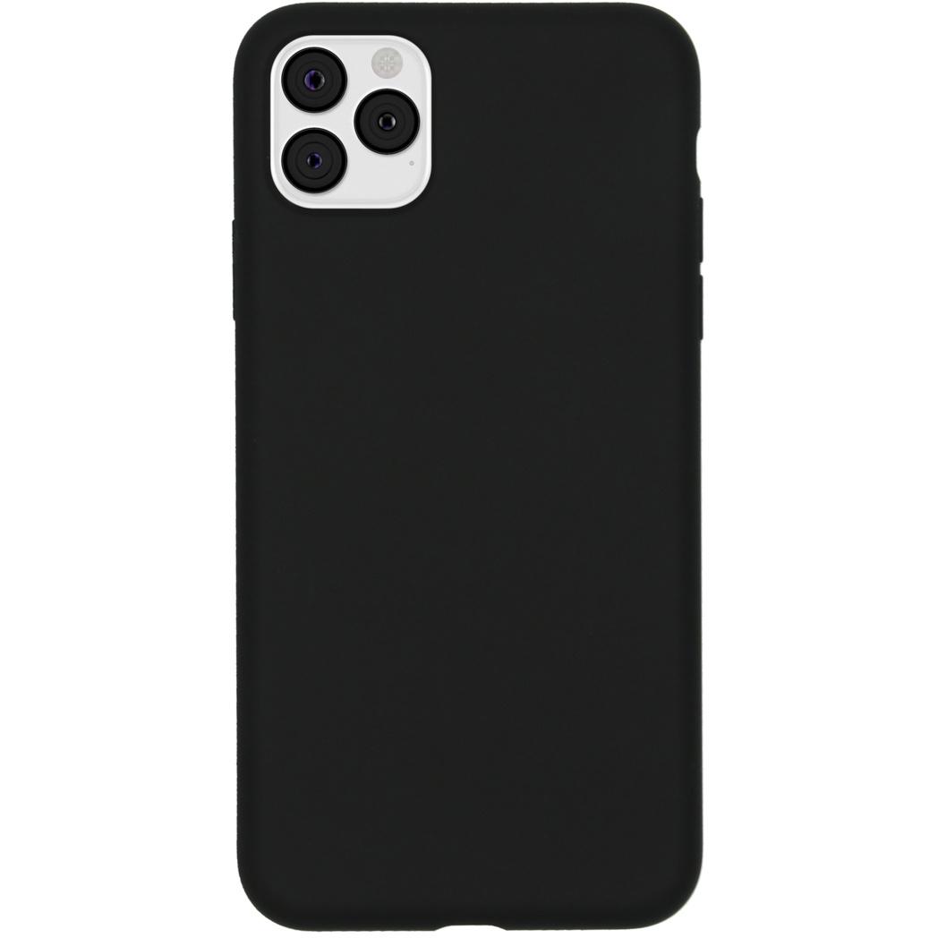Accezz Liquid Silikoncase Schwarz für das iPhone 11 Pro Max