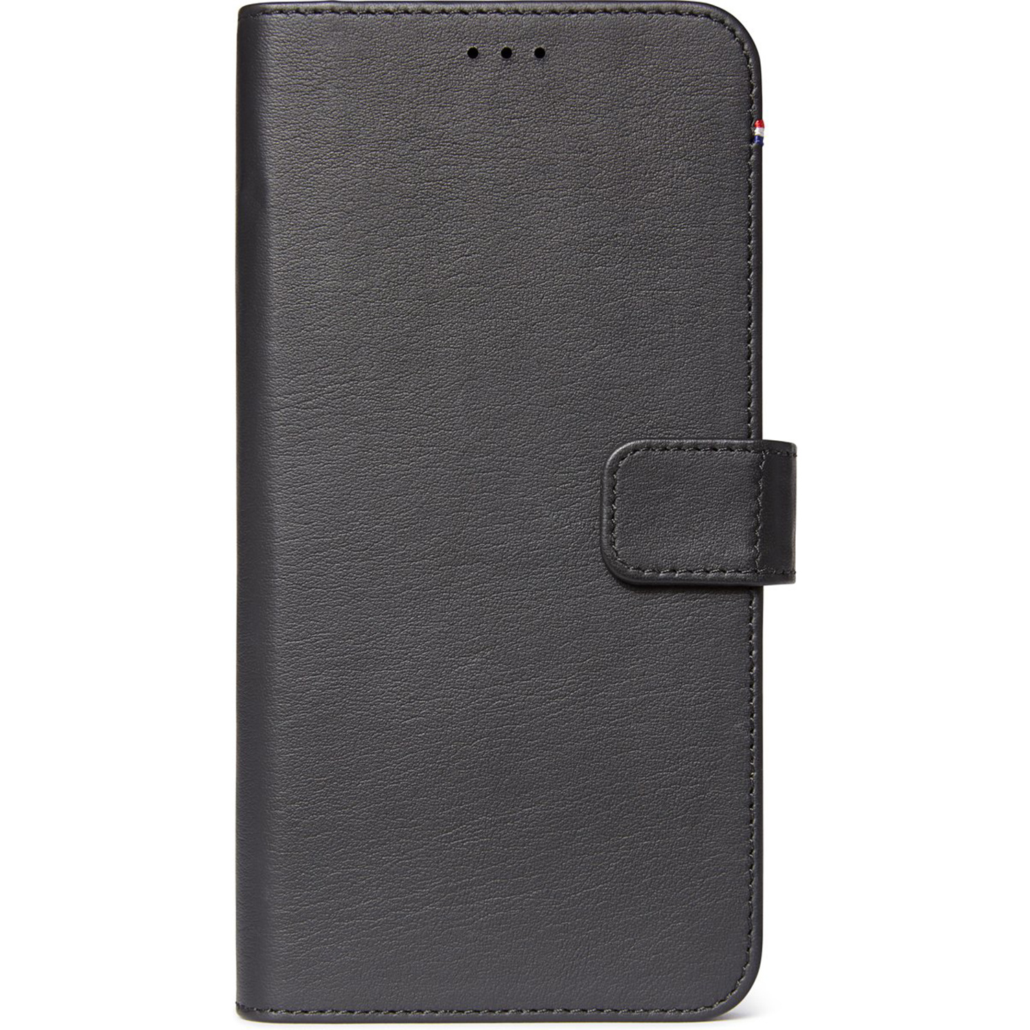 Decoded 2 in 1 Leather Booktype Schwarz iPhone 11 Pro