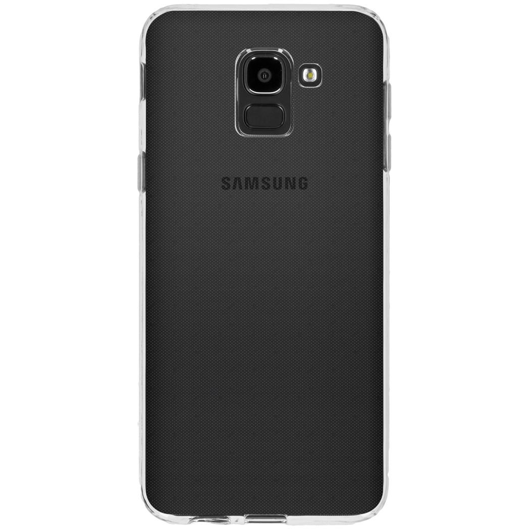 Accezz TPU Clear Cover Transparent für Samsung Galaxy J6