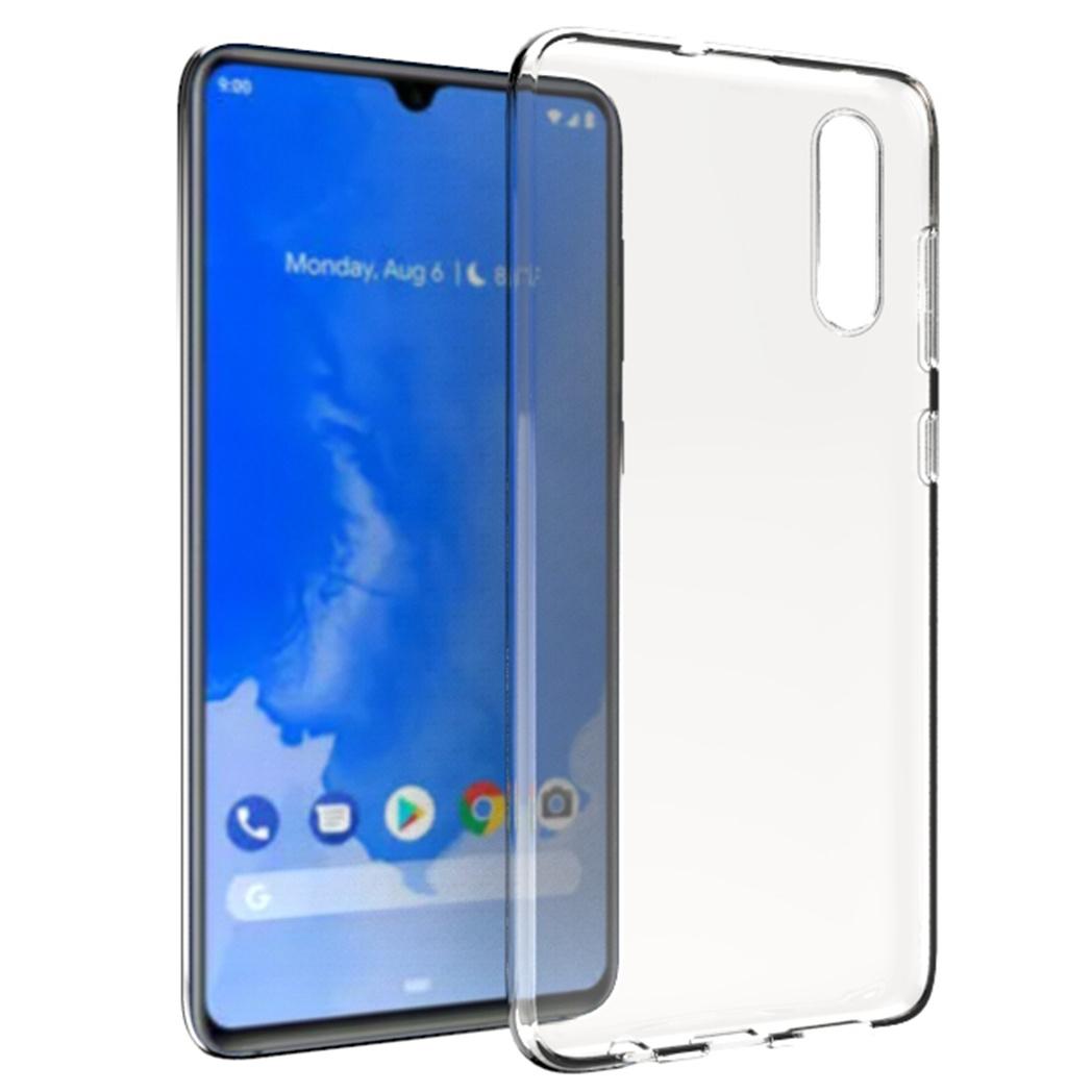 Accezz TPU Clear Cover Transparent für Samsung Galaxy A70