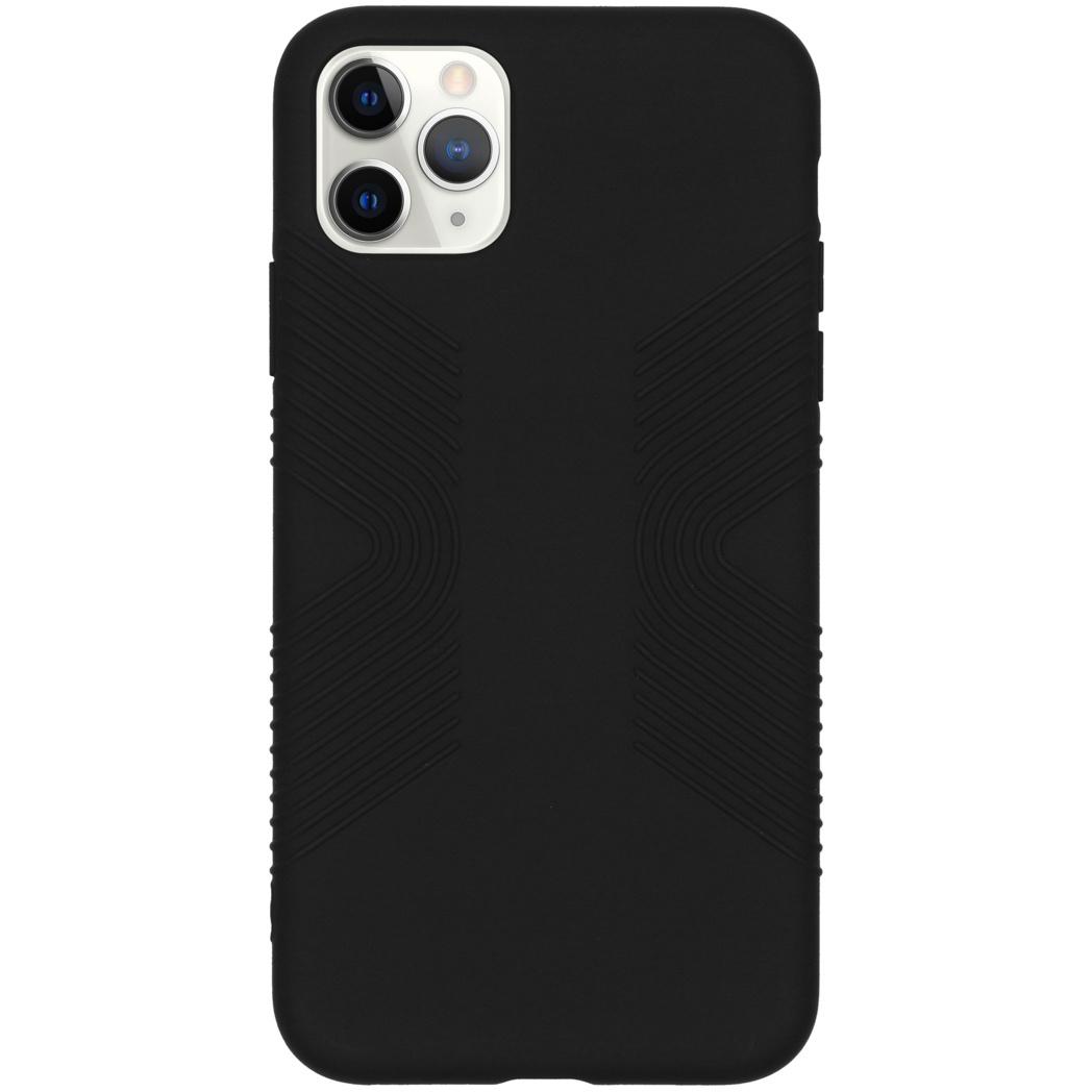 Accezz Impact Grip Backcover Schwarz für das iPhone 11 Pro Max