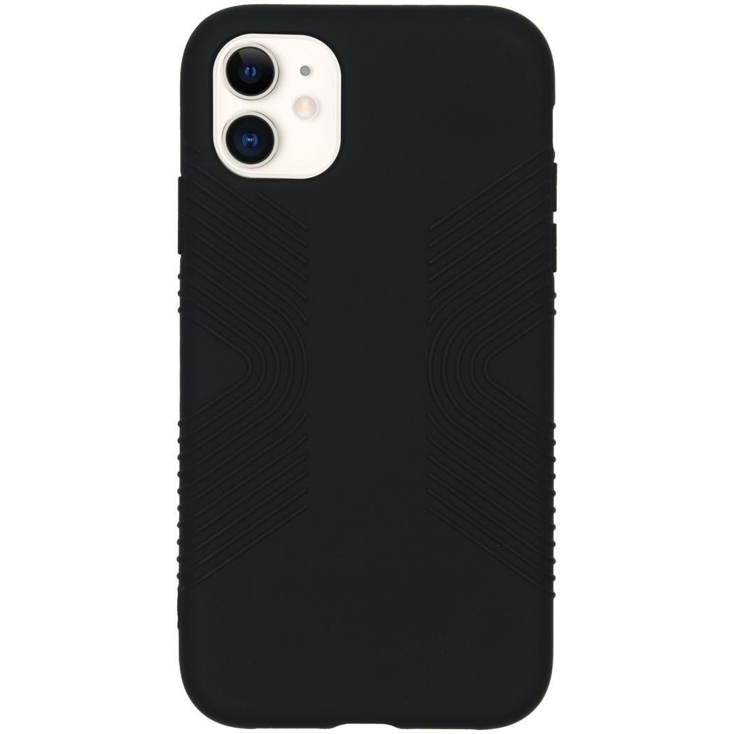 Accezz Impact Grip Backcover Schwarz für das iPhone 11