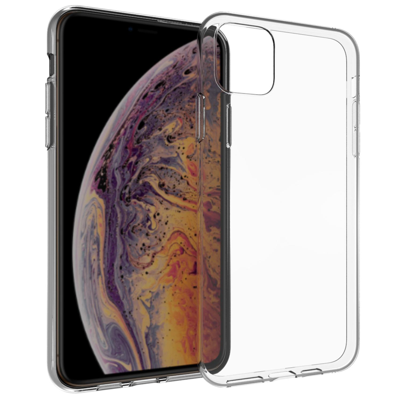 Accezz TPU Clear Cover Transparent für iPhone 11 Pro