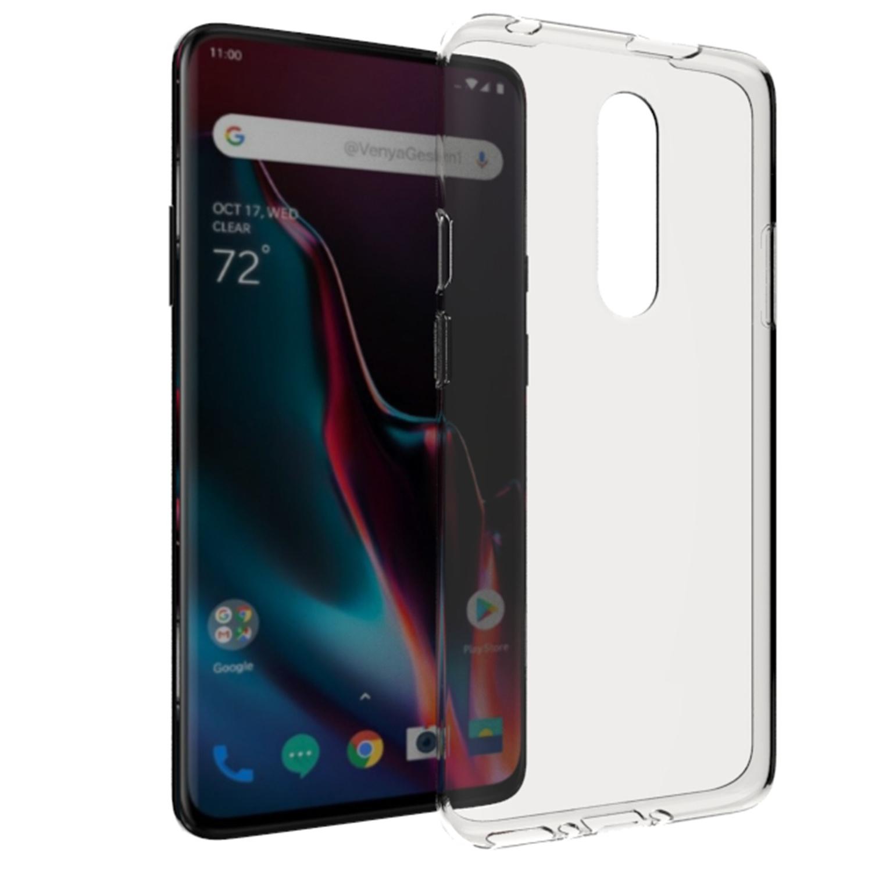 Accezz TPU Clear Cover Transparent für OnePlus 7 Pro