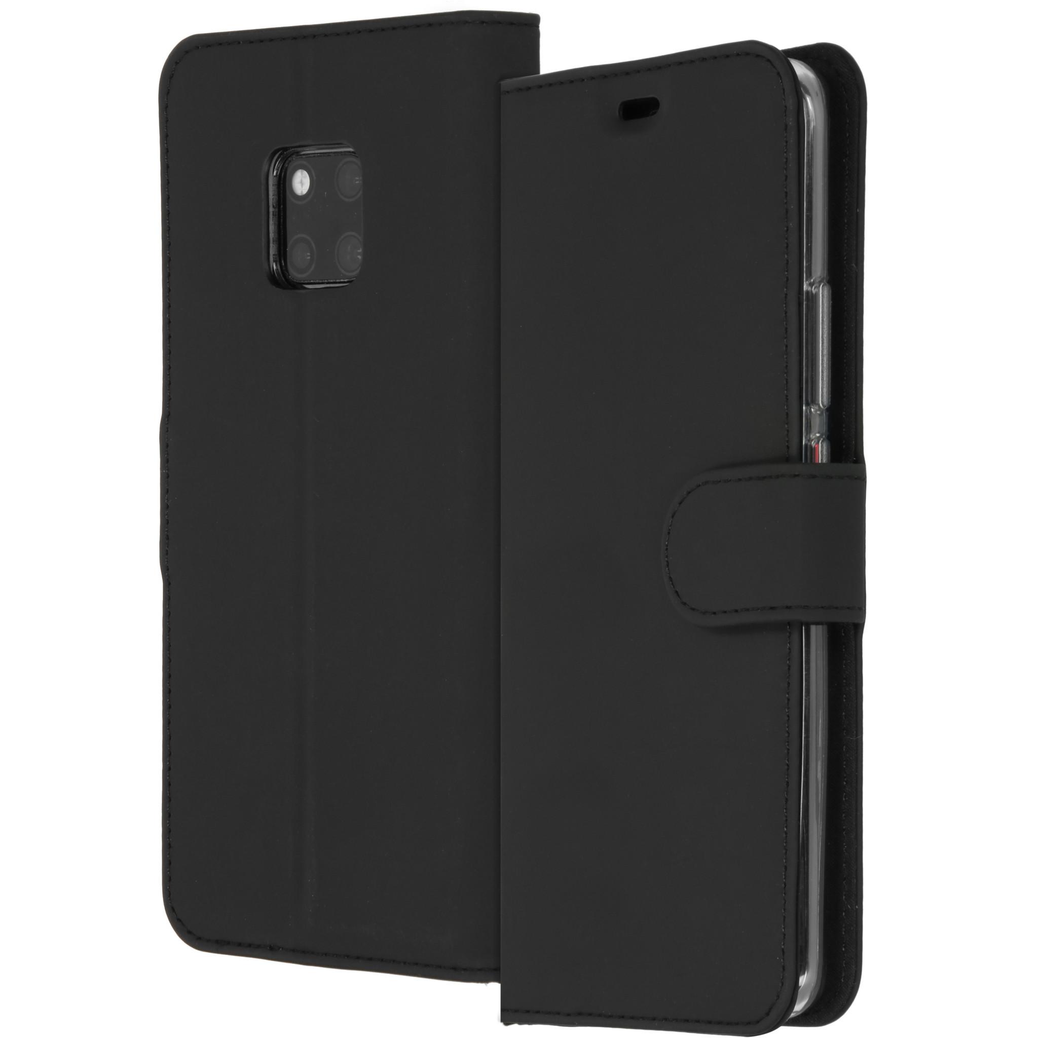 Accezz Wallet TPU Booklet Schwarz für das Huawei Mate 20 Pro