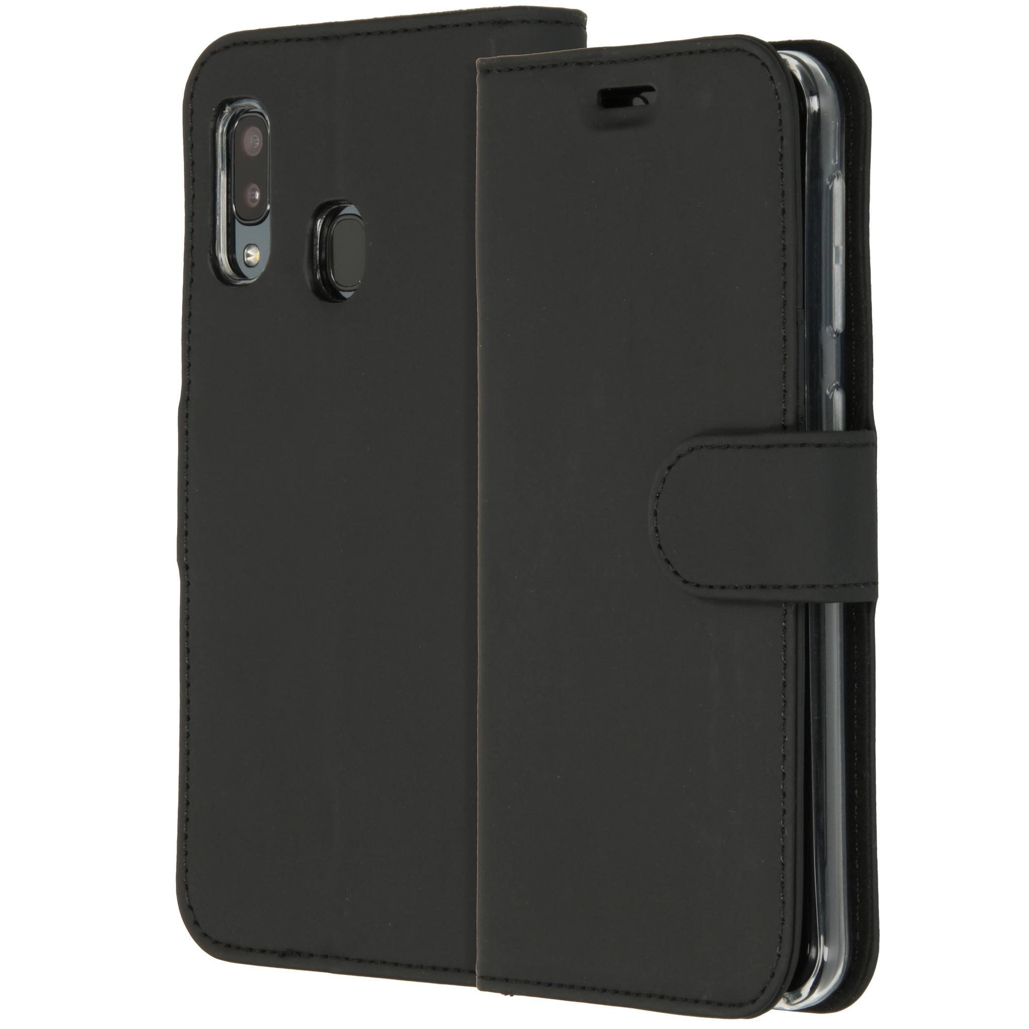 Accezz TPU Booklet Schwarz für das Samsung Galaxy A20e