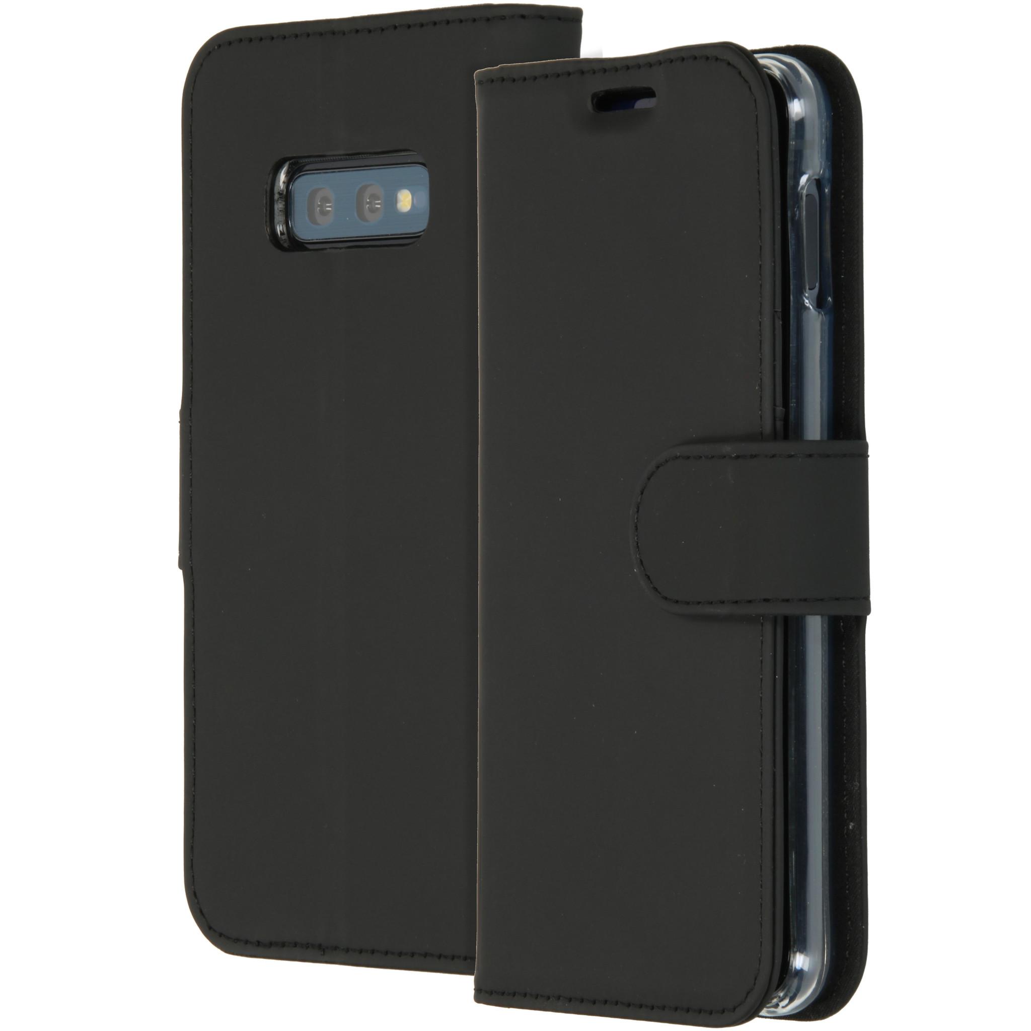 Accezz Wallet TPU Booklet Schwarz für das Samsung Galaxy S10e