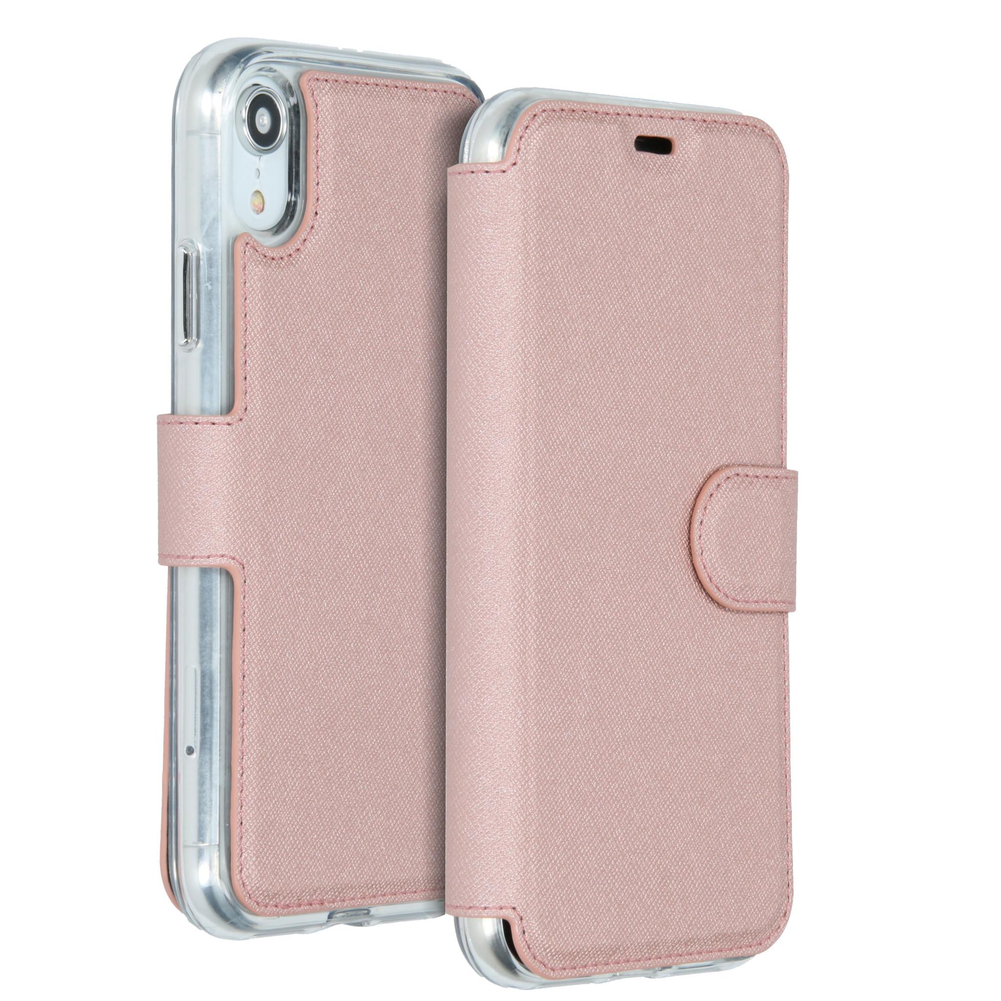 Accezz Xtreme Wallet Roségold für das iPhone Xr