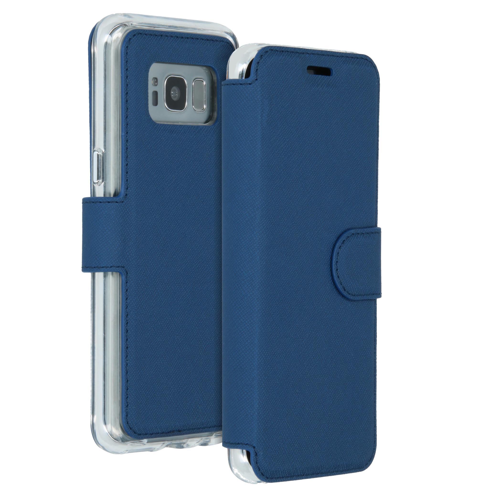 Accezz Xtreme Wallet Blau für das Samsung Galaxy S8