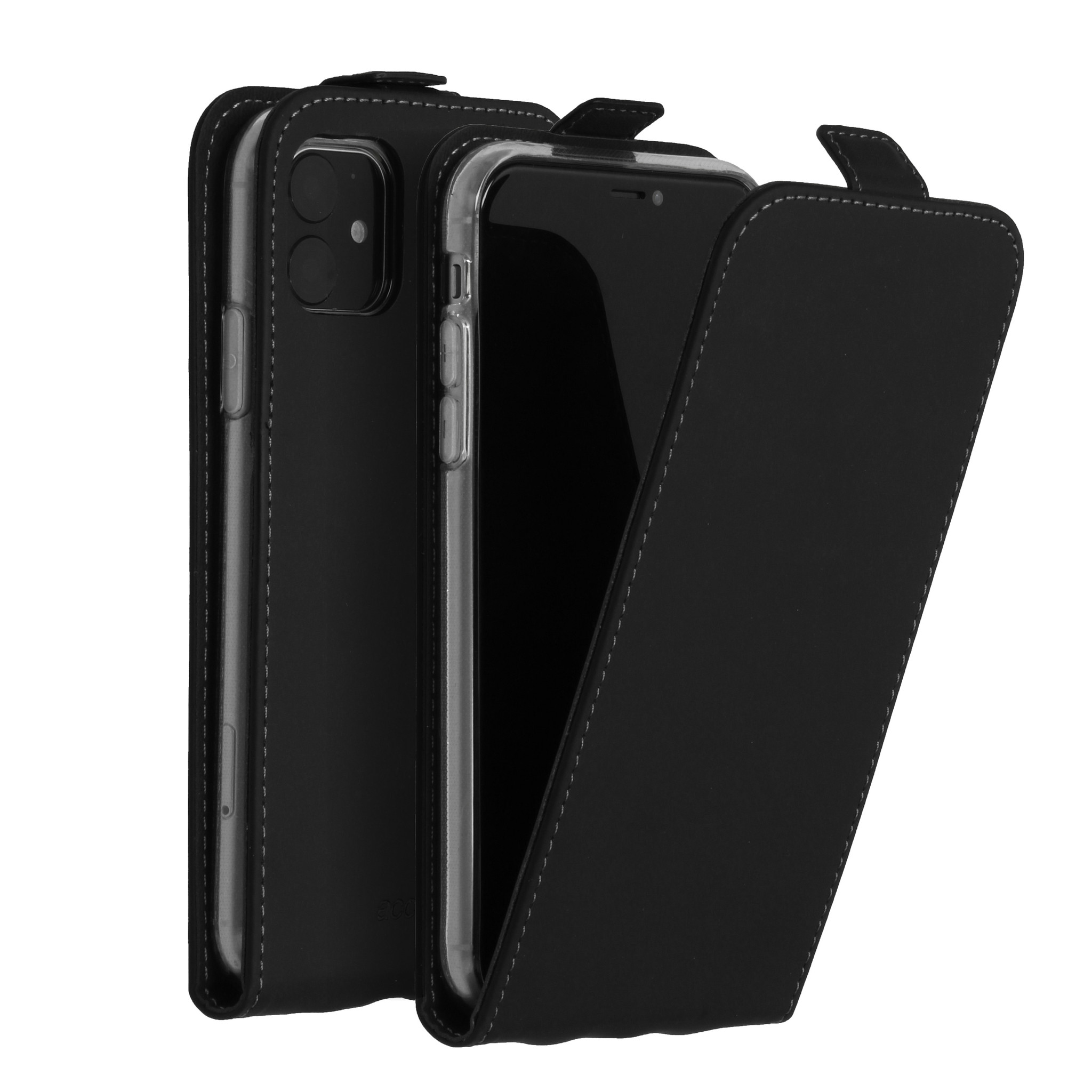 Accezz Flip Case Schwarz für das iPhone 11