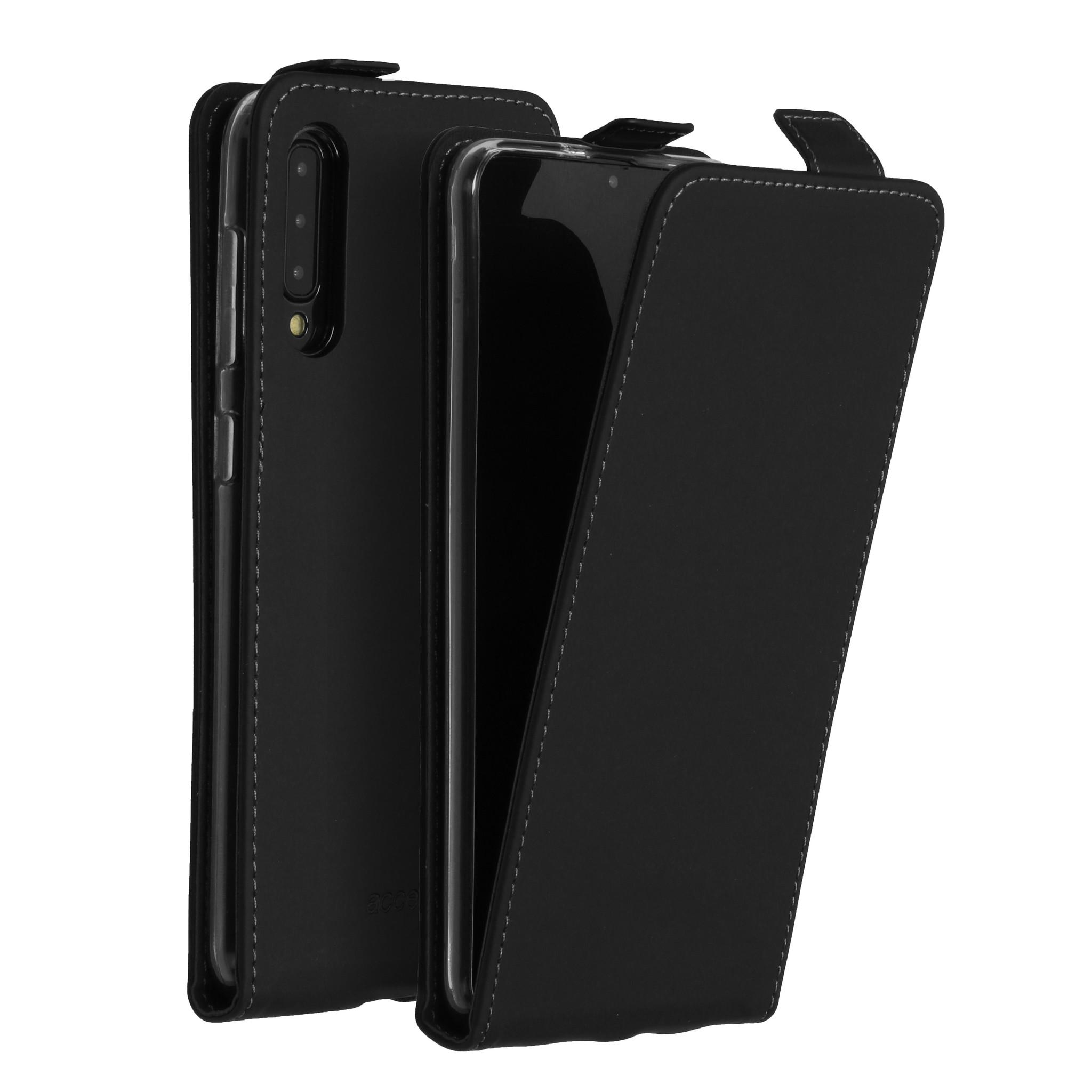 Accezz Flip Case Schwarz für das Samsung Galaxy A50 / A30s