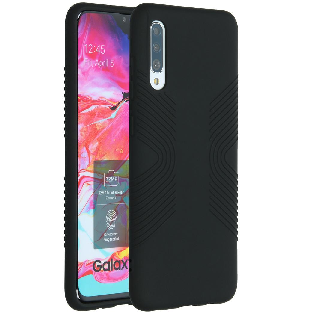 Accezz Impact Grip Backcover für das Samsung Galaxy A70