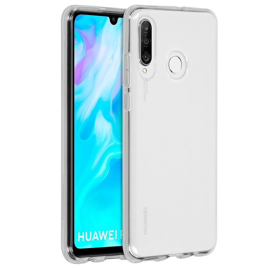 Accezz TPU Clear Cover Transparent für das Huawei P30 Lite