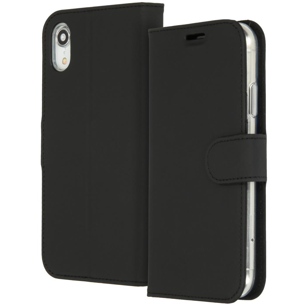 Accezz Wallet TPU Booklet Schwarz für das iPhone Xr