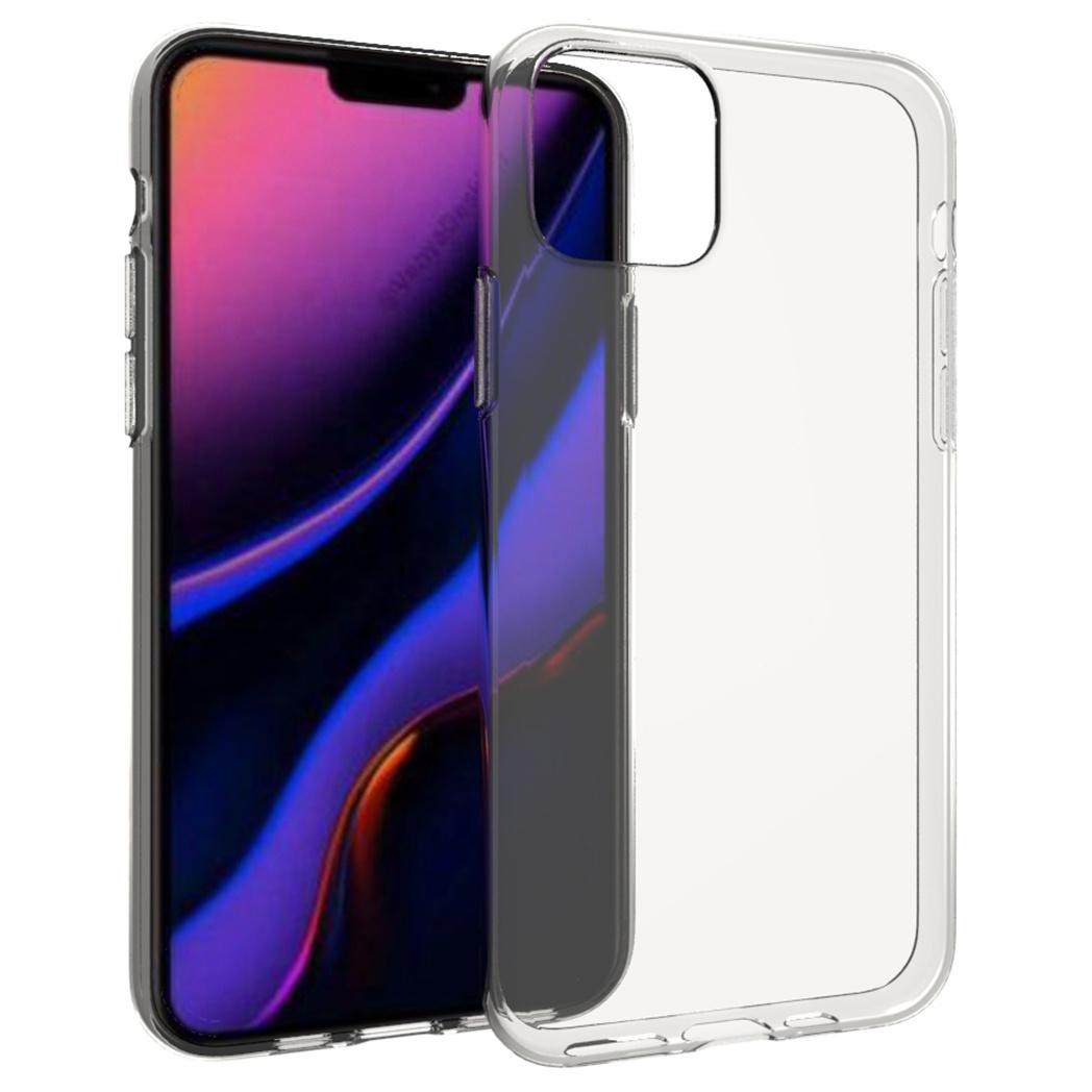 Accezz TPU Clear Cover Transparent für iPhone 11