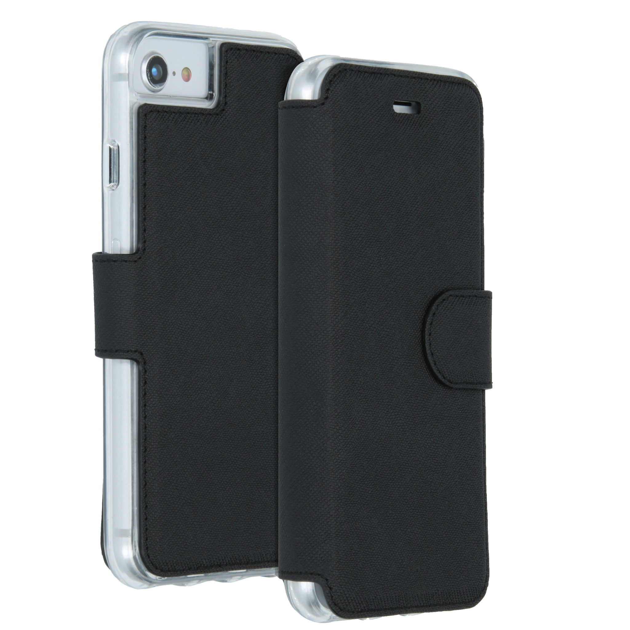 Accezz Xtreme Wallet Schwarz für das iPhone SE (2020) / 8 / 7
