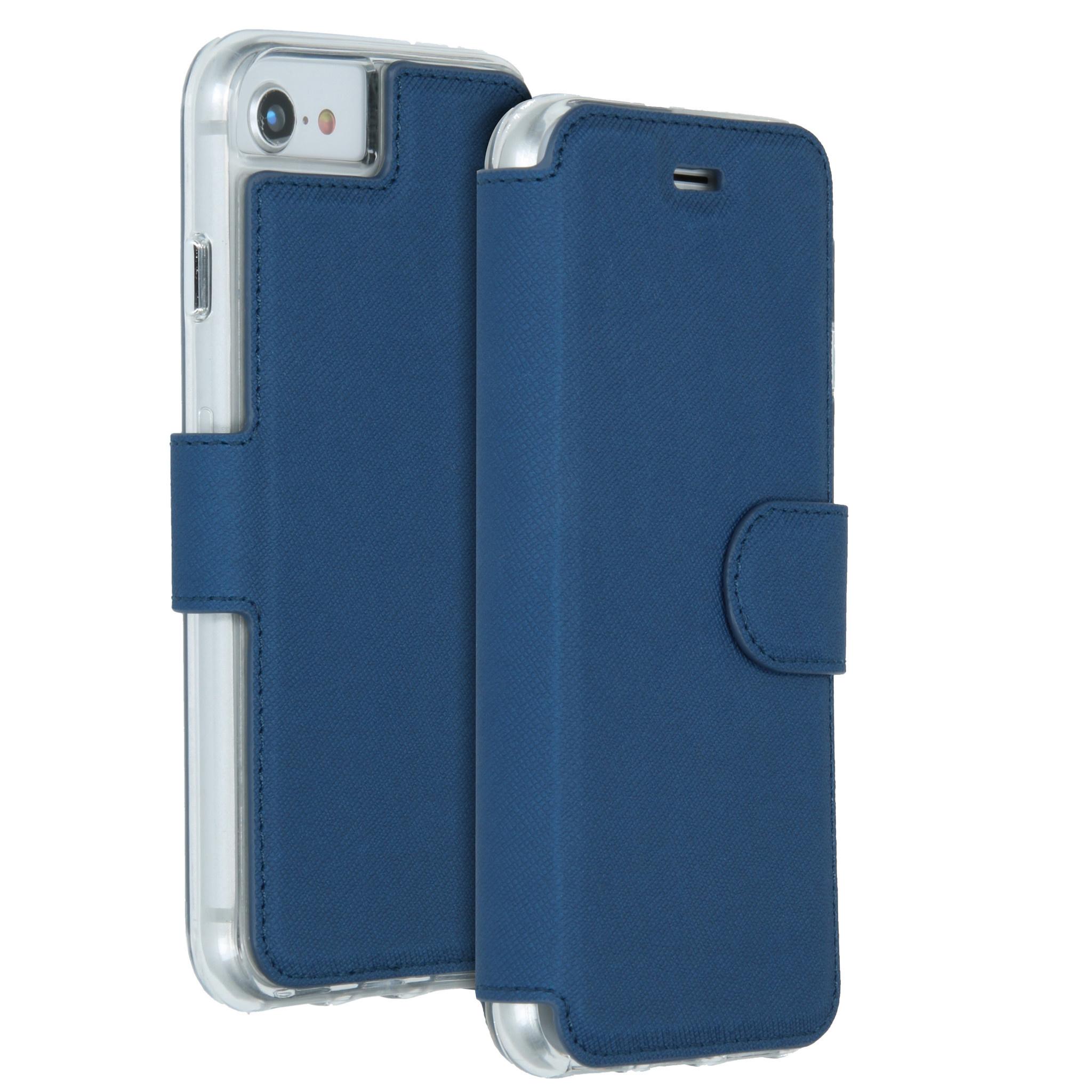 Accezz Xtreme Wallet Blau für das iPhone SE (2020) / 8 / 7