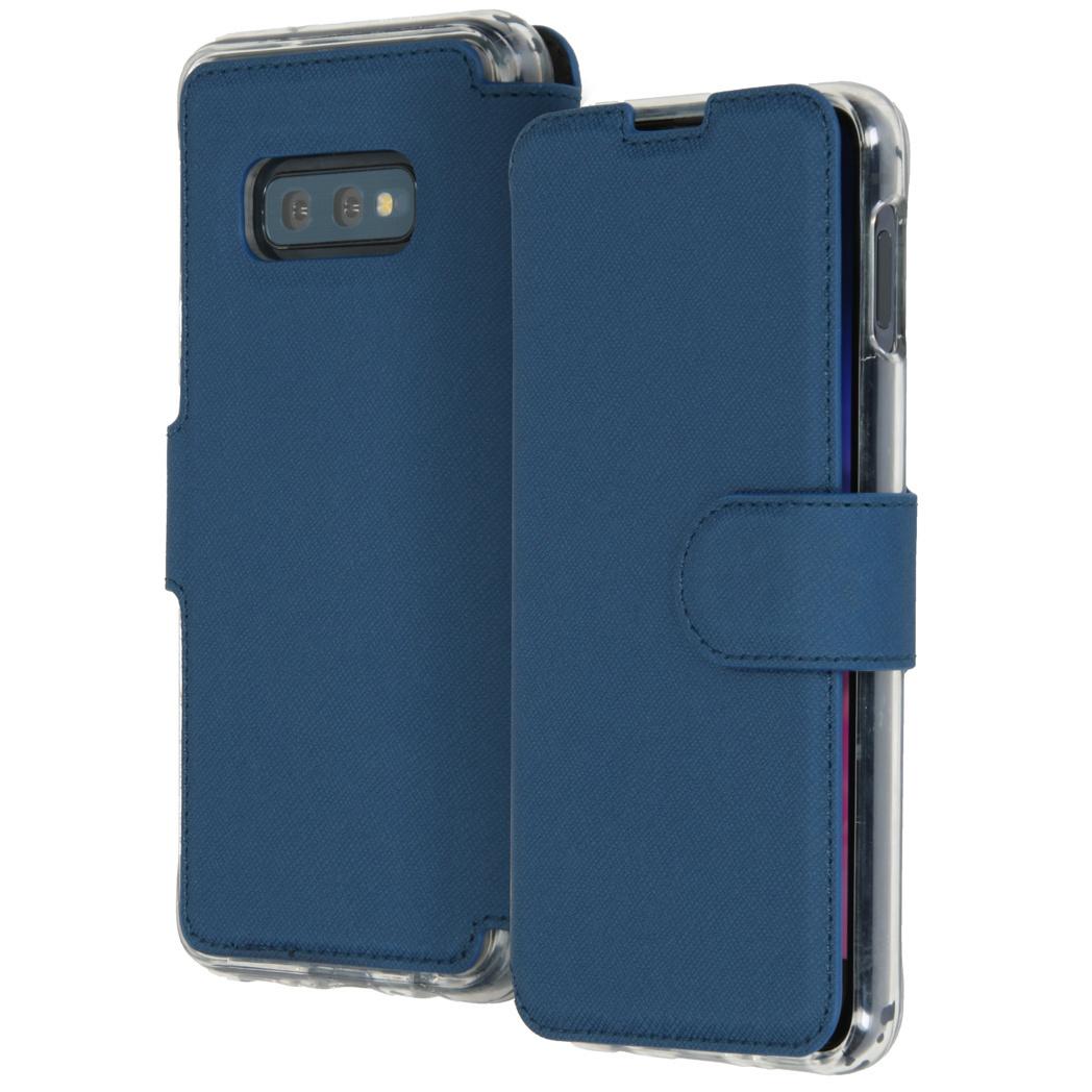 Accezz Xtreme Wallet Dunkelblau für das Samsung Galaxy S10e