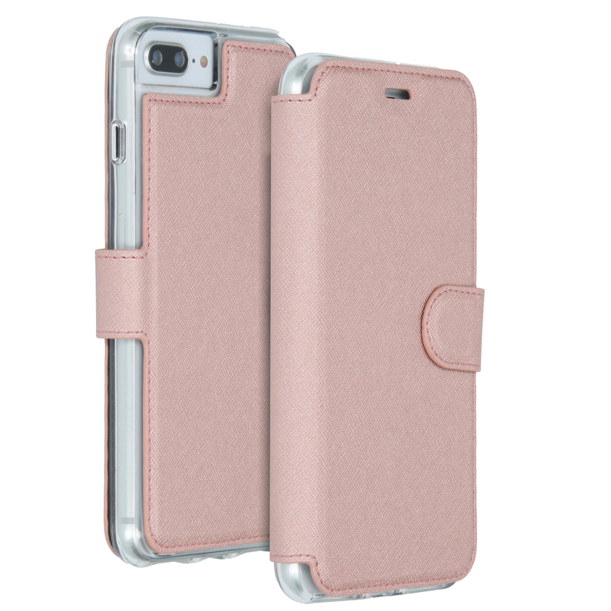 Accezz Xtreme Wallet Roségold für das iPhone 8 Plus / 7 Plus