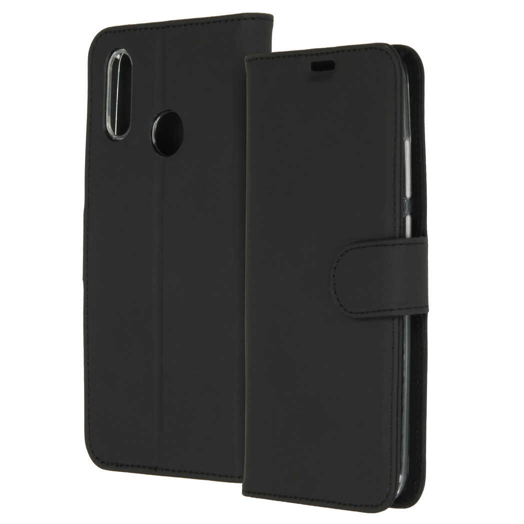 Accezz Wallet TPU Booklet Schwarz für das Huawei P Smart (2019)