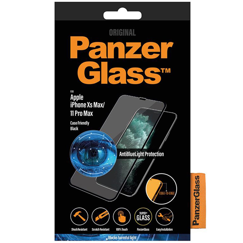 PanzerGlass CF AntiBlueLight Screenprotector iPhone 11 Pro Max / Xs Max