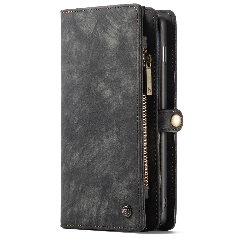 CaseMe Luxuriöse 2-in-1-Portemonnaie-Hülle Leder für das Galaxy S10