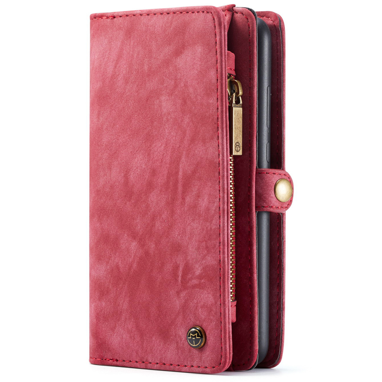 CaseMe Luxusleder 2-in-1-Portemonnaie-Hülle Galaxy A50 / A30s