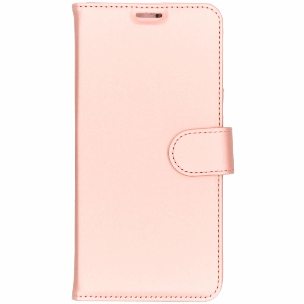 Accezz Wallet TPU Booklet Roségold für das Samsung Galaxy S10 Plus