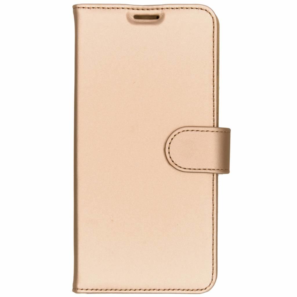 Accezz Wallet TPU Booklet Gold für das Samsung Galaxy S10 Plus