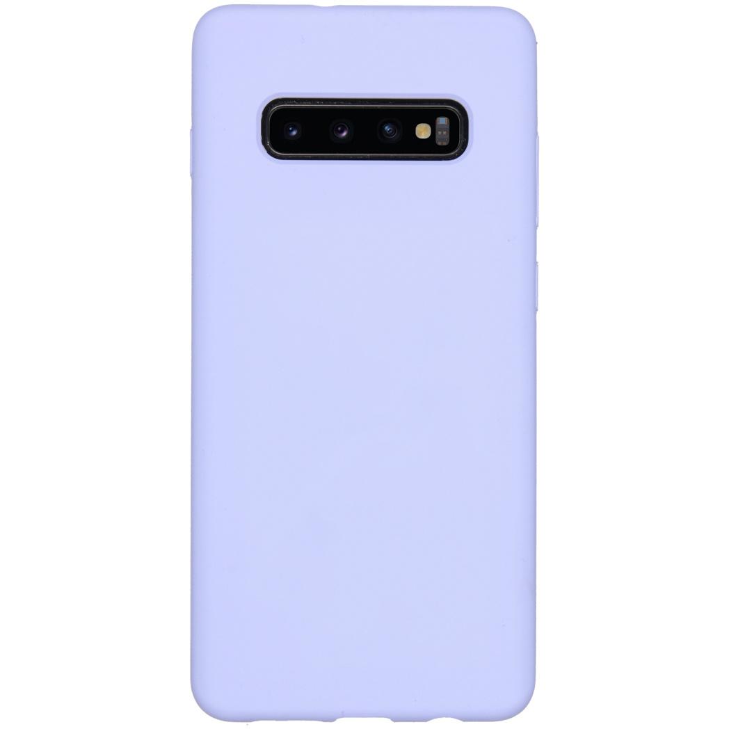 Accezz Liquid Silikoncase Lila für das Samsung Galaxy S10 Plus