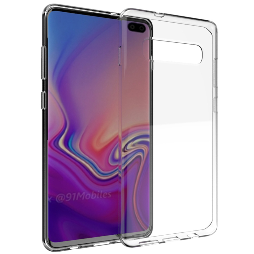Accezz TPU Clear Cover Transparent für das Samsung Galaxy S10 Plus