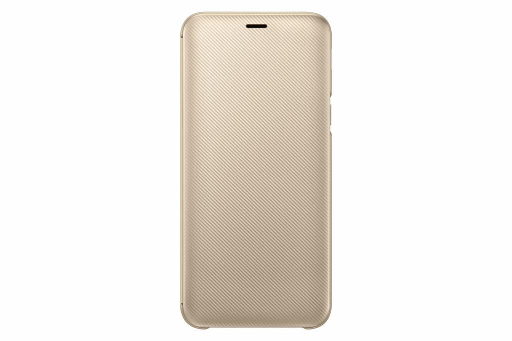 Samsung Wallet Cover Gold für das Galaxy J6