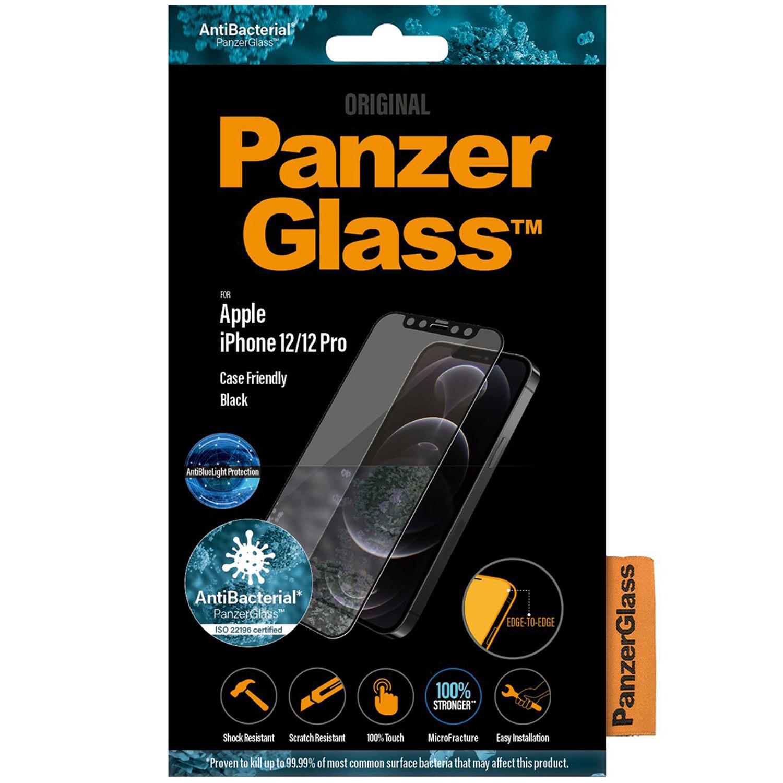 PanzerGlass CF AntiBlueLight Screenprotector iPhone 12 (Pro)