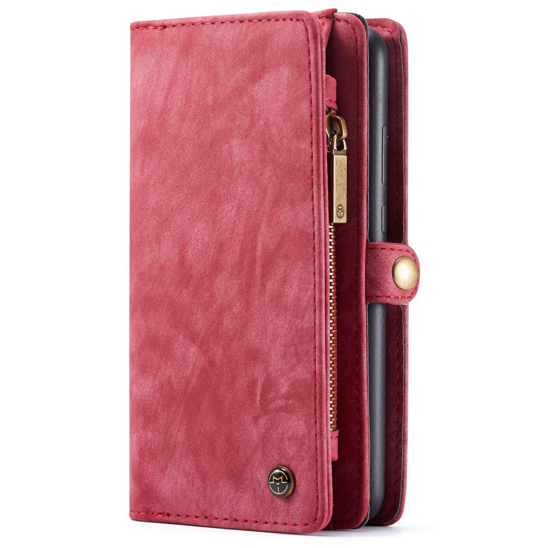 CaseMe Luxusleder 2-in-1-Portemonnaie-Hülle für das Huawei P30 Pro