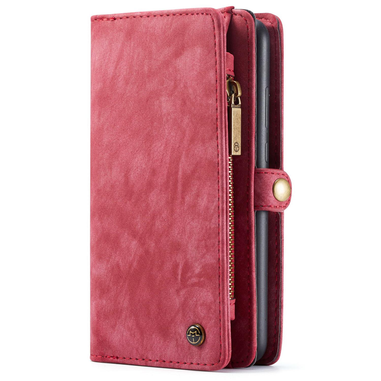 CaseMe Luxuriöse 2-in-1-Portemonnaie-Hülle Leder für das P30 Lite
