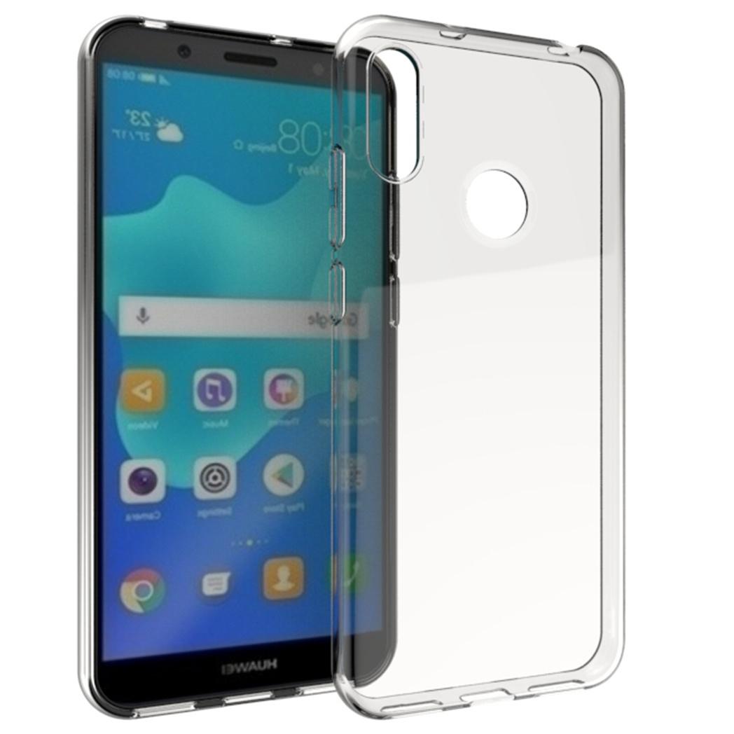 Accezz TPU Clear Cover Transparent für das Huawei Y6 (2019)