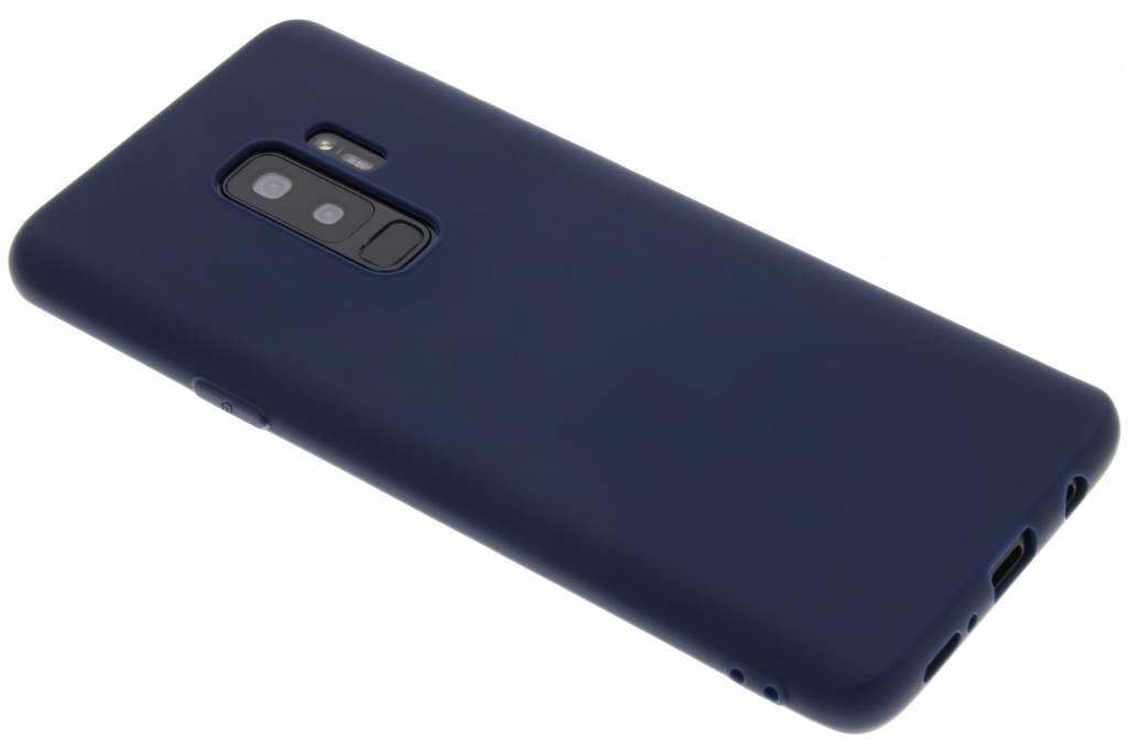 Dunkelblaue Color TPU Hülle für Samsung Galaxy S9 Plus