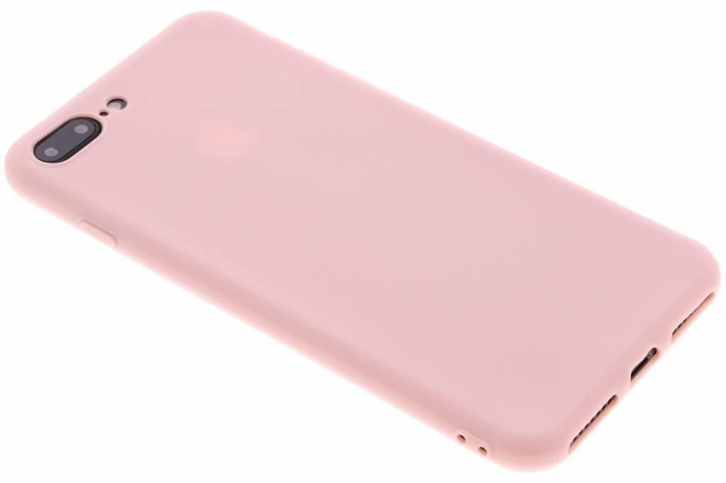 Puderrosa Color TPU Hülle für iPhone 8 Plus / 7 Plus