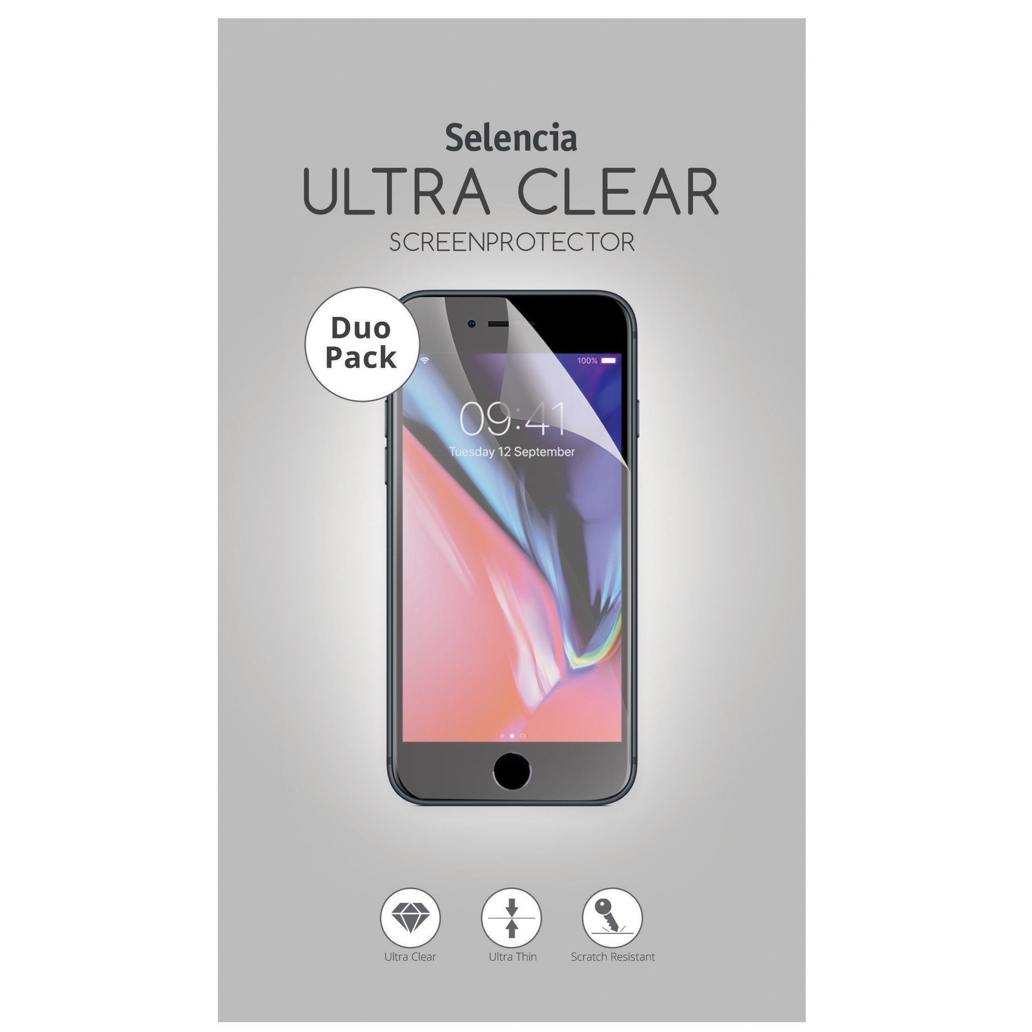 Selencia Duo Pack Screenprotector für das Huawei P20