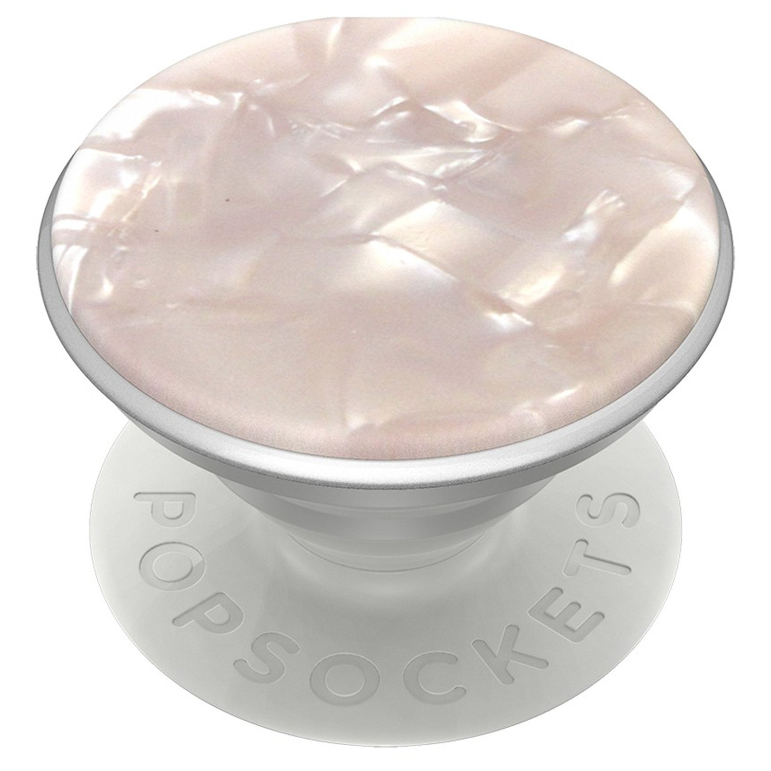 PopSockets Luxus PopGrip - Acetate Pearl White