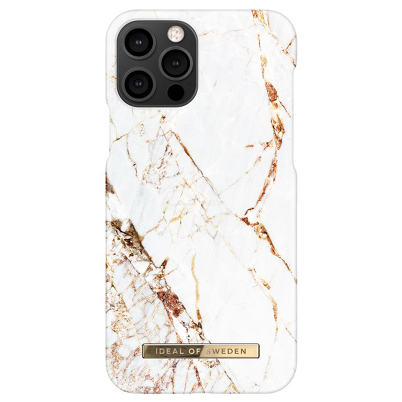 ideal of Sweden Fashion Back Case iPhone 12 (Pro) - Carrara Gold