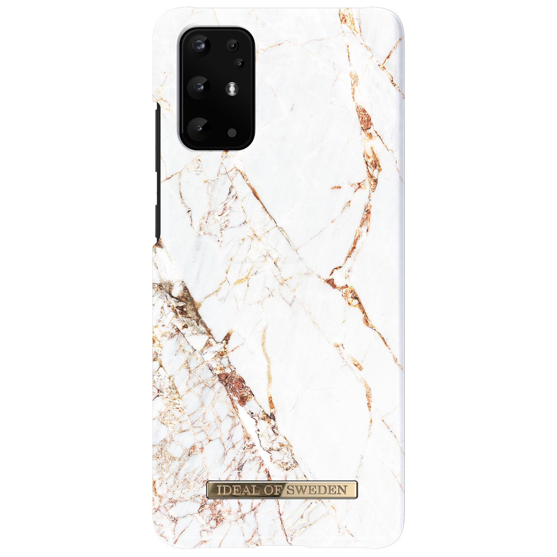 ideal of Sweden Carrara Gold Fashion Back Case Samsung Galaxy S20 Plus