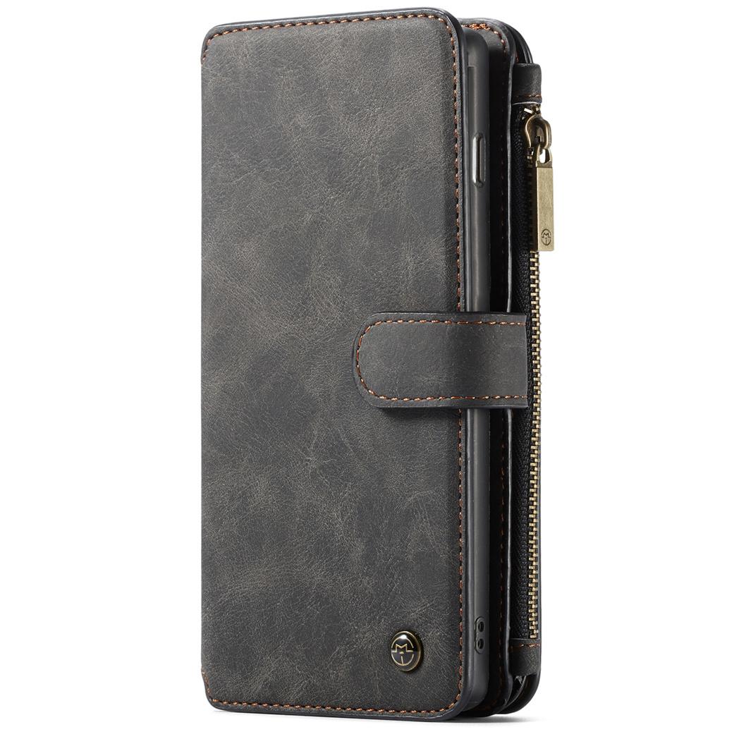 CaseMe Luxuriöse 2-in-1 Portemonnaie-Hülle für Samsung Galaxy S10