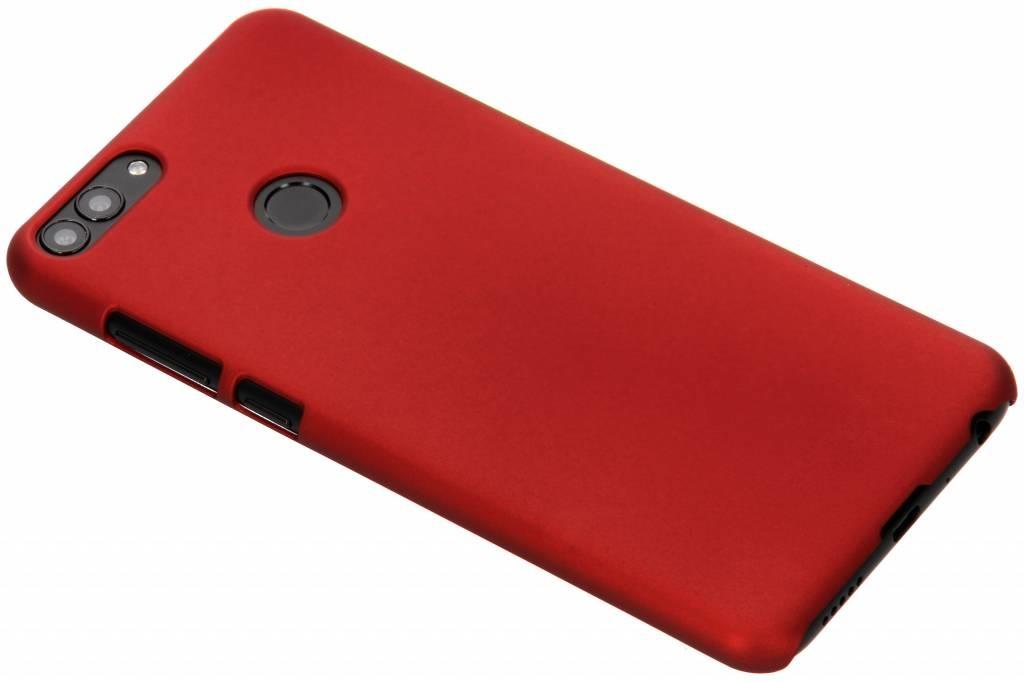 Rot Unifarbene Hardcase-Hülle für Huawei P Smart