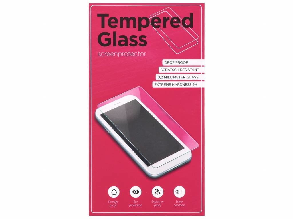 Displayschutz aus gehärtetem Glas für Huawei Y6 (2018)