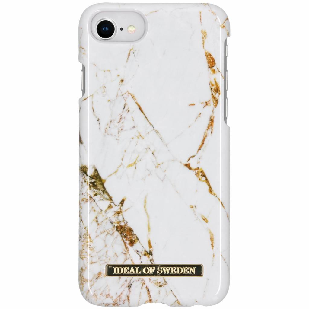 ideal of Sweden Carrara Gold Fashion Back Case iPhone SE (2020) /8 /7 / 6(s)