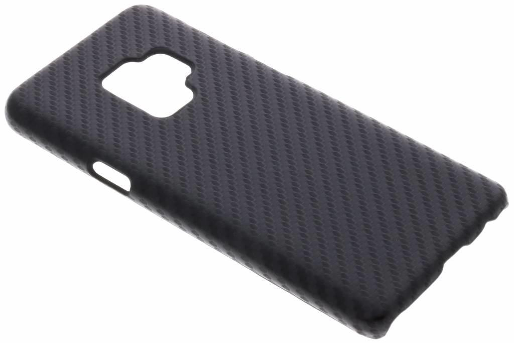 Carbon Look Hardcase-Hülle Schwarz für Samsung Galaxy S9