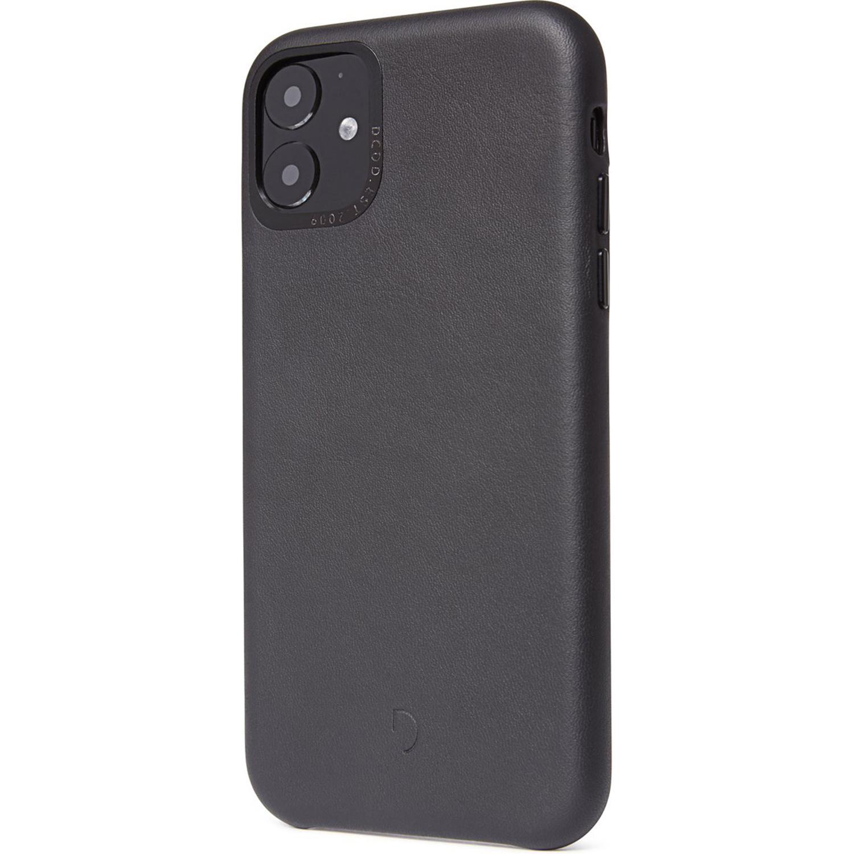 Decoded Leather Backcover Schwarz für das iPhone 11