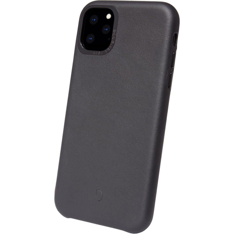 Decoded Leather Backcover Schwarz für das iPhone 11 Pro